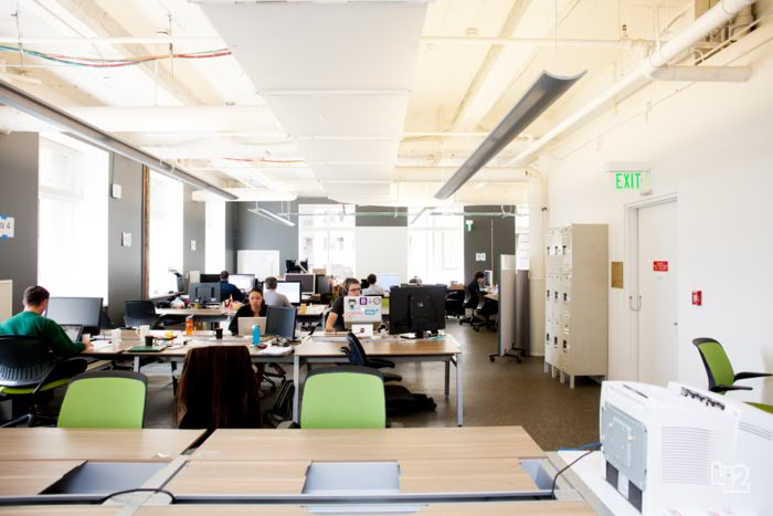 silicon valley office. downtown san francisco or in the heart of silicon valley office